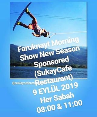 SUKAY CAFE RESTAURANT FARUKNAYT MORNİNG SHOW U SUNAR